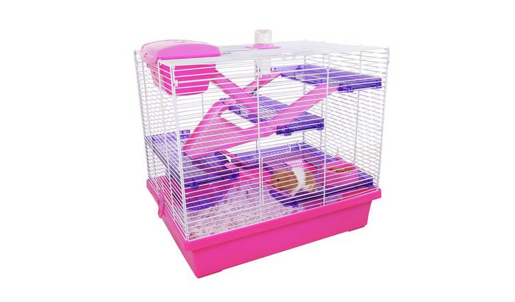 Rosewood Pink/Purple Pico Hamster Cage - X Large