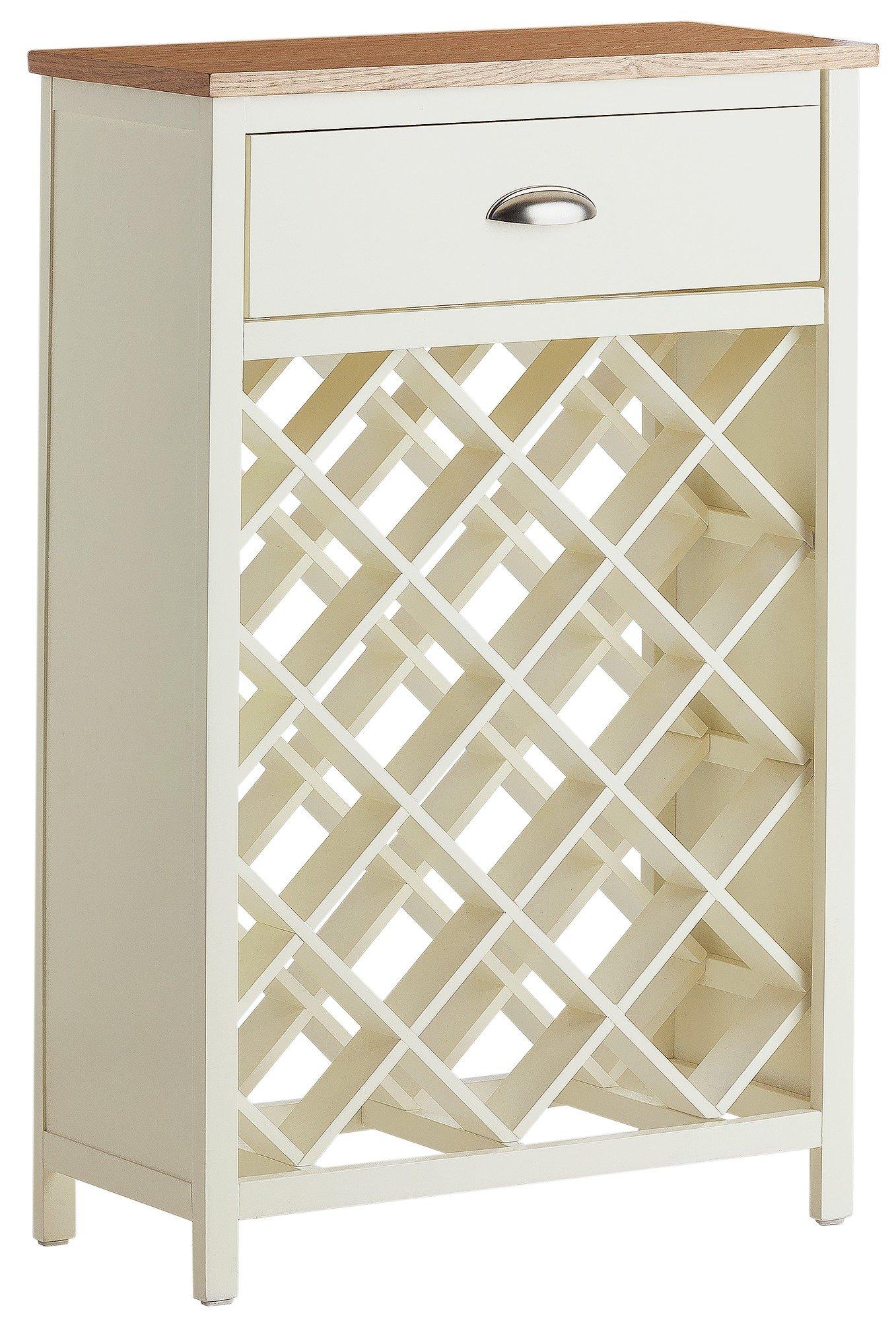 White apron argos - Collection Addington Wine Rack Cream