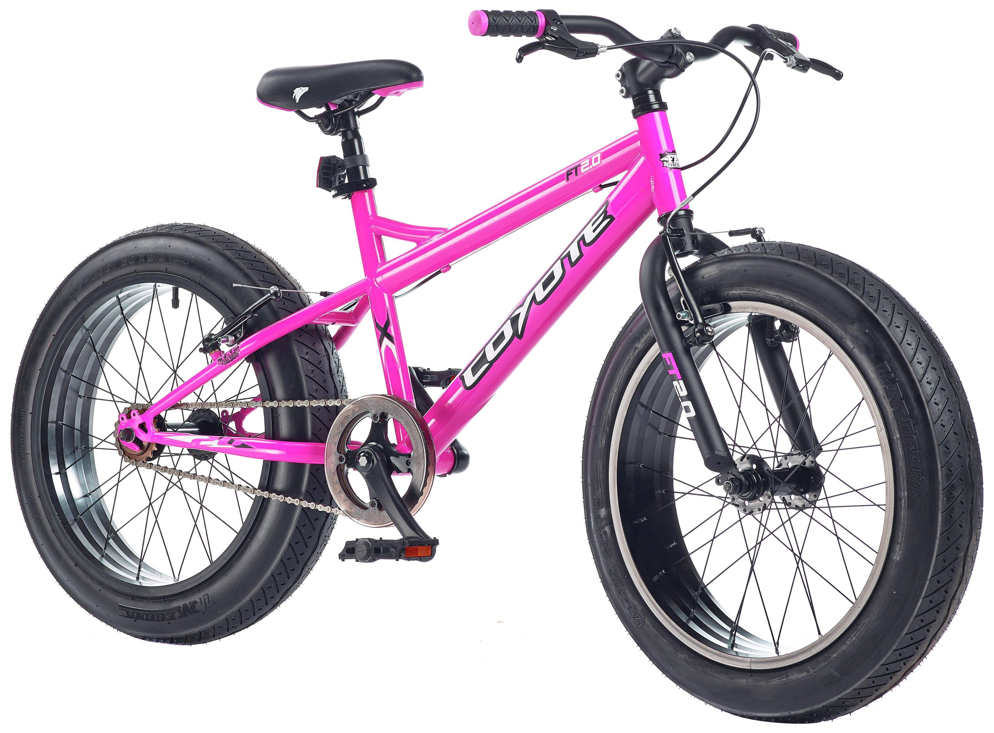 Image of Coyote - Fatman 14 Inch All Terrain - Bike - Neon Pink