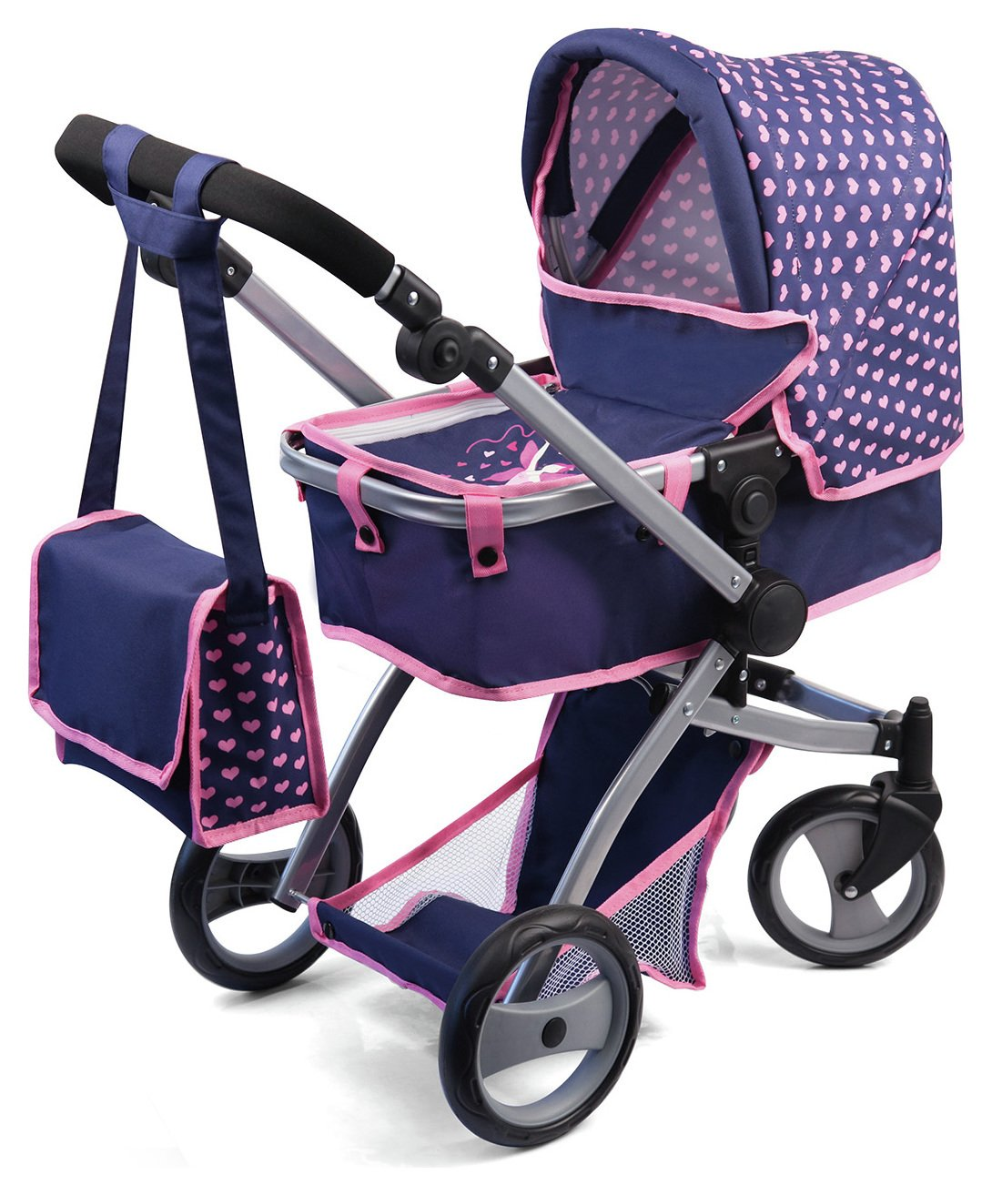 Image of Bayer - Deluxe Combi Dolls Pram