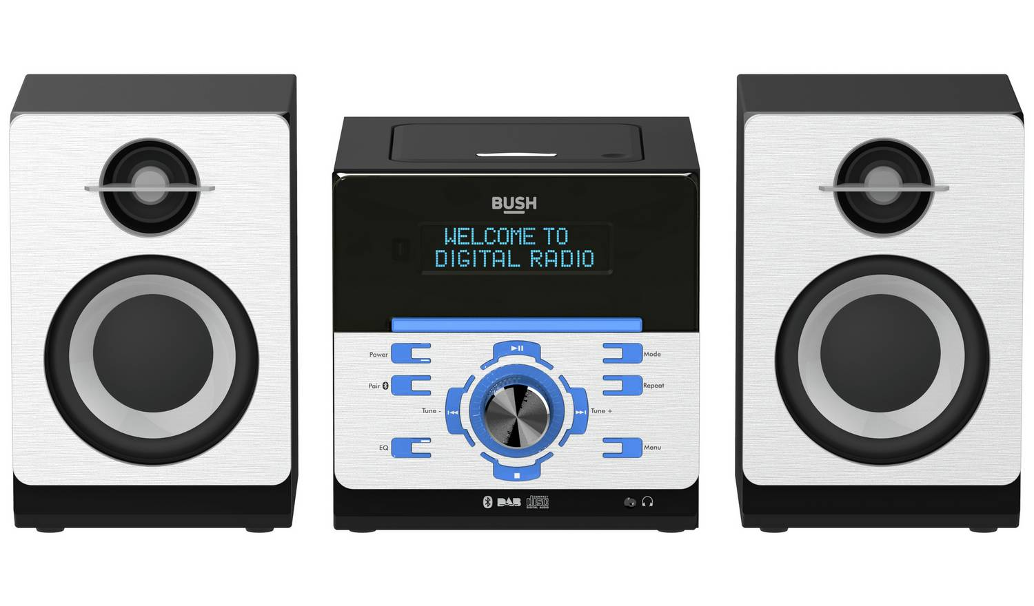 Bush Bluetooth CD DAB Micro System