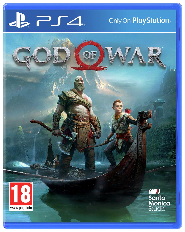 God Of War PS4 Pre-order Game.