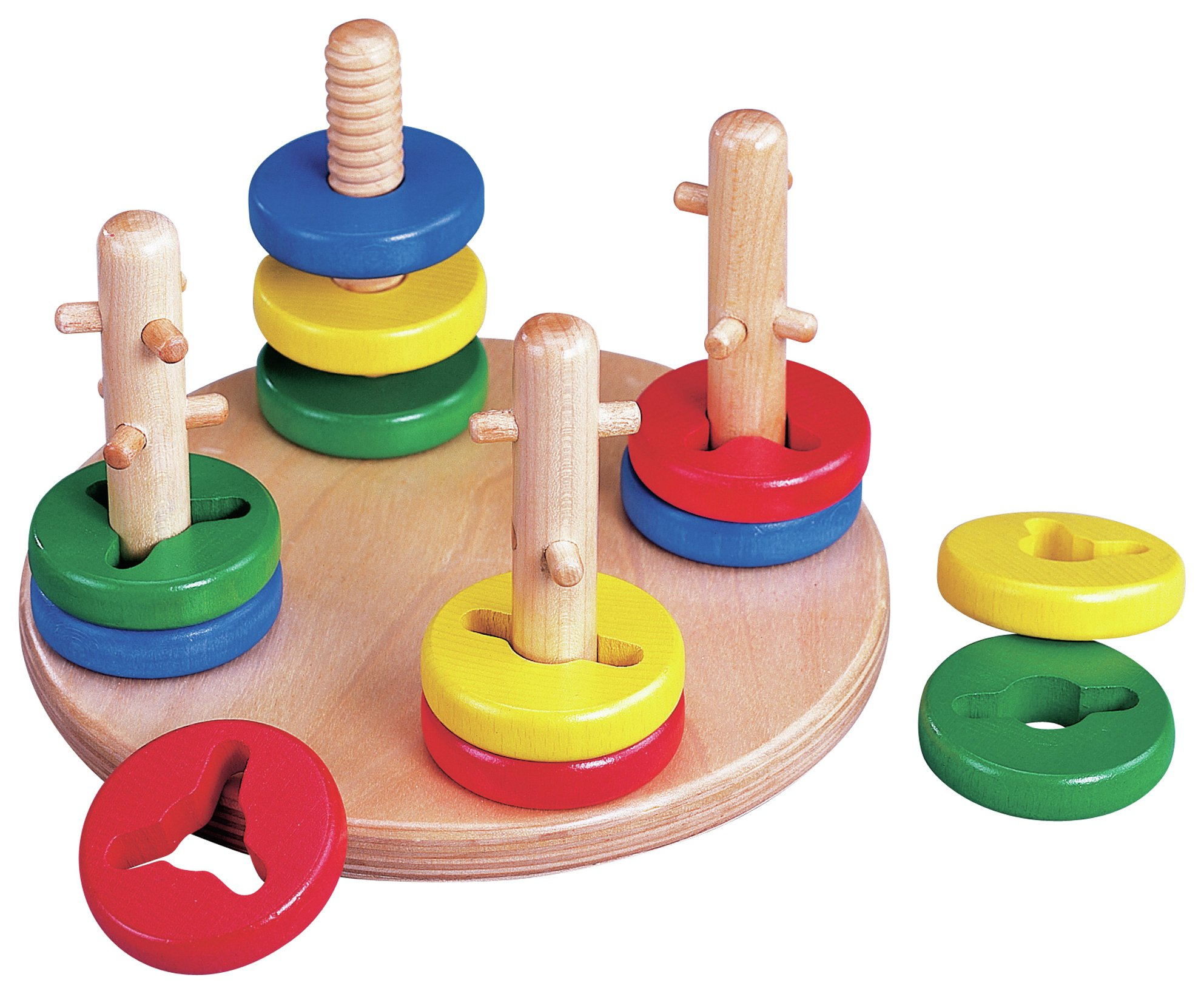 Image of Turn and Sort Shape Sorting Toy.