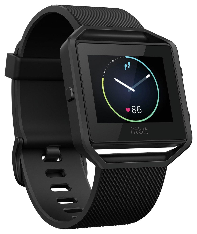 Fitbit Blaze Smart Fitness Large Watch - Gunmetal.