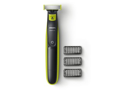 Philips Wet and Dry Oneblade Trim, Edge and Shave.