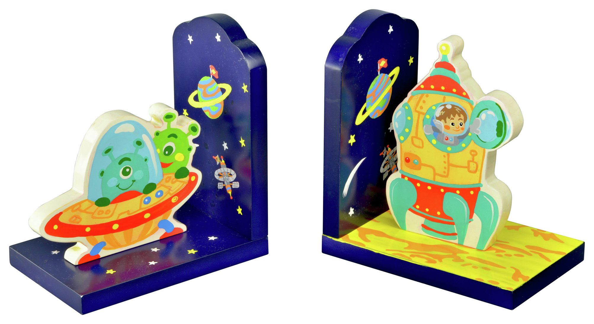 Fantasy Fields Outer Space Bookends. lowest price