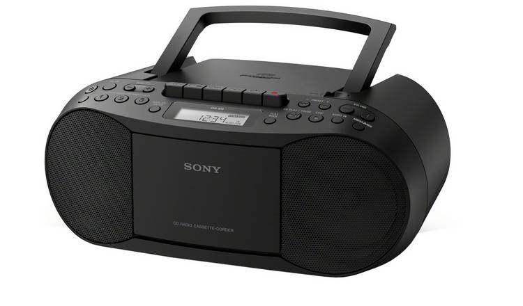 Sony CFD-S70 CD and Cassette Player With Radio