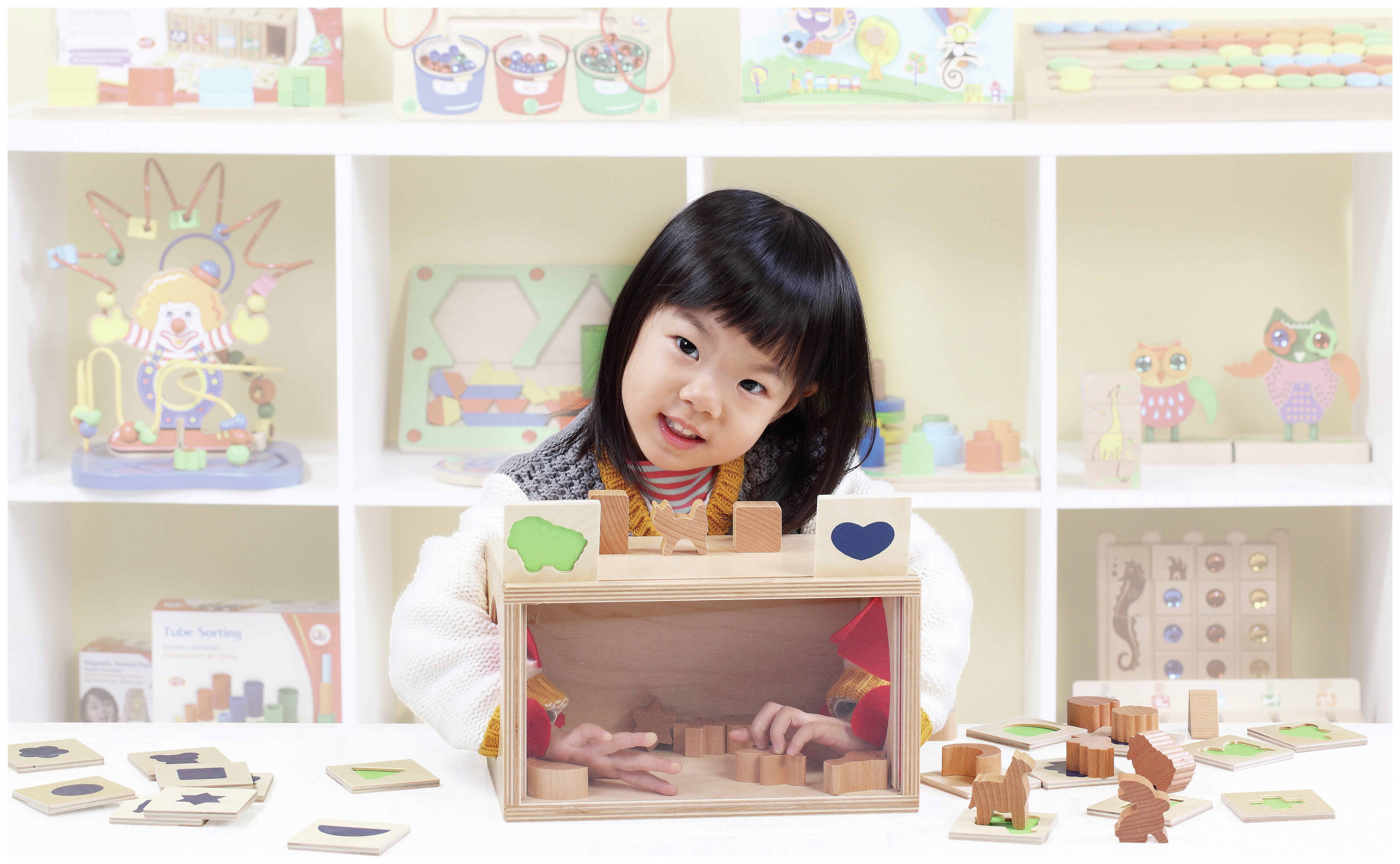 Image of GoGo Toys - Guessing Box - Game.