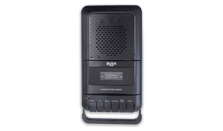 Bush Cassette Player and Recorder - Black