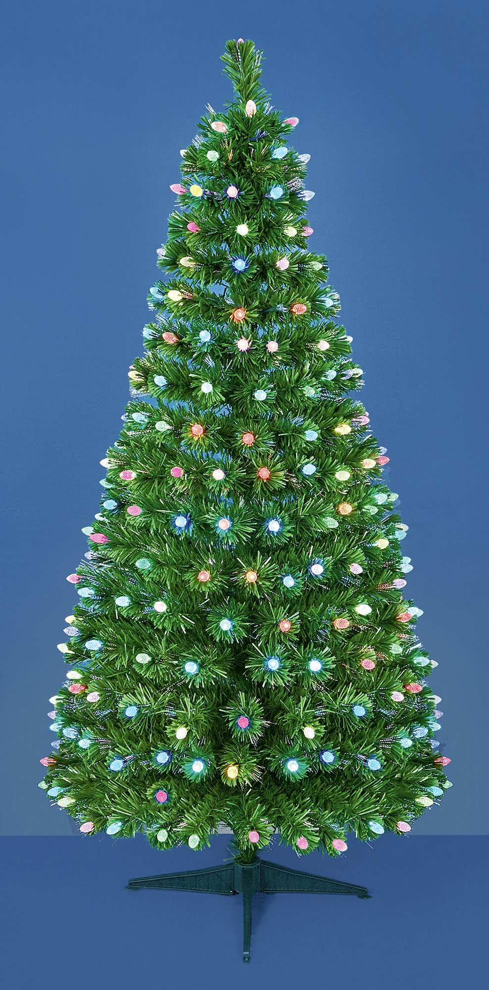 fibre-optic-led-pinecone-christmas-tree-multicoloured