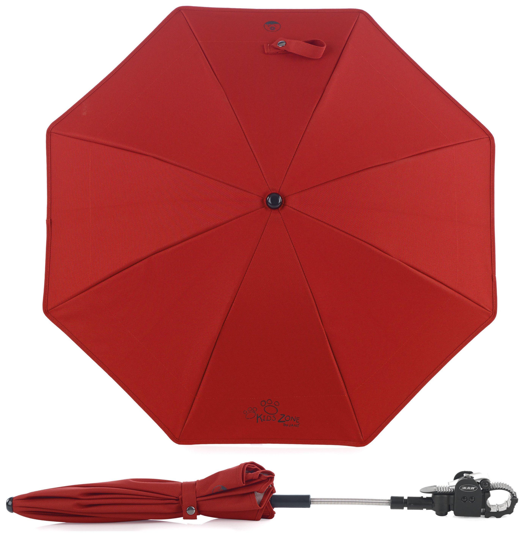 Image of Jane Parasol Anti UV - Red.