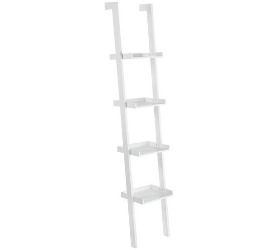 Habitat Jessie 4 Shelf Narrow Leaning Bookshelf