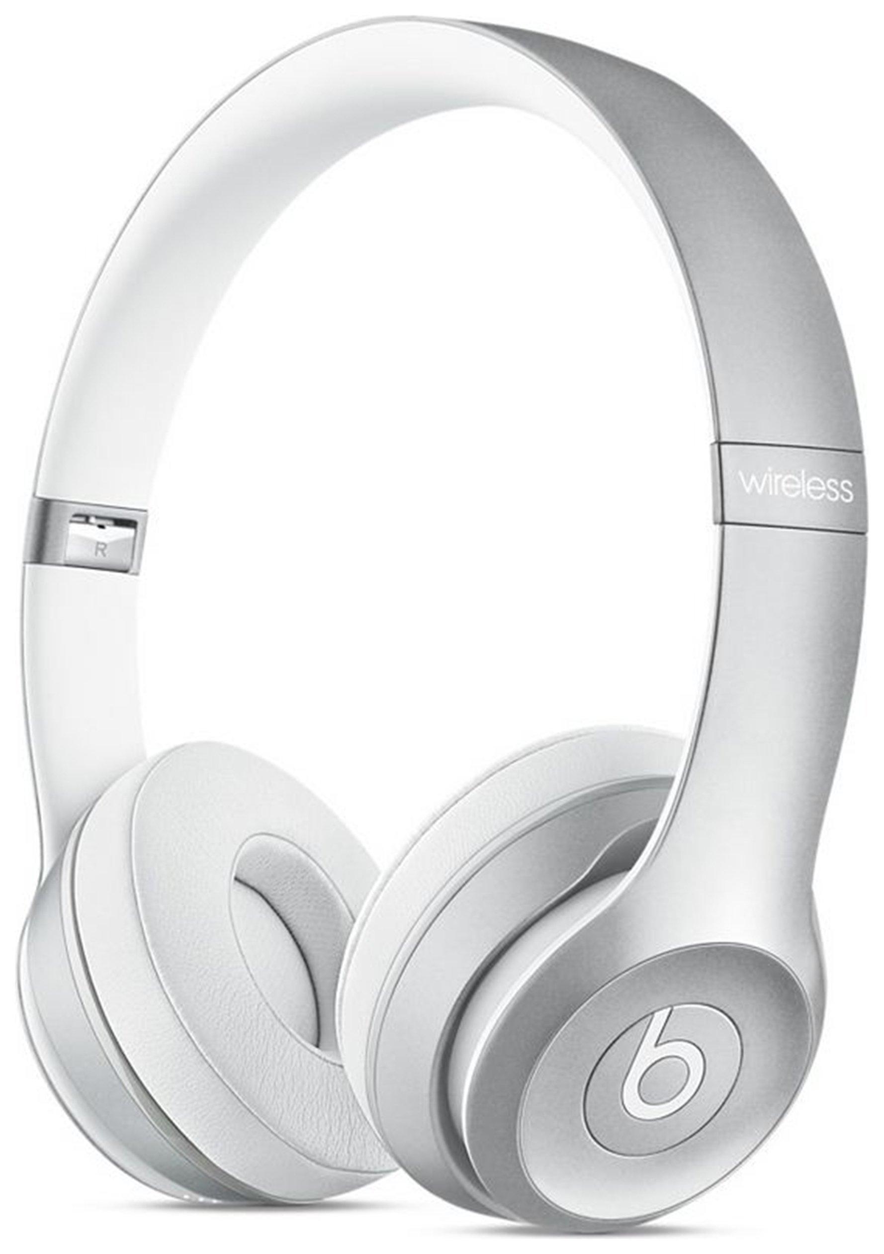 Image of Beats Wireless On Ear Headphones - Silver.