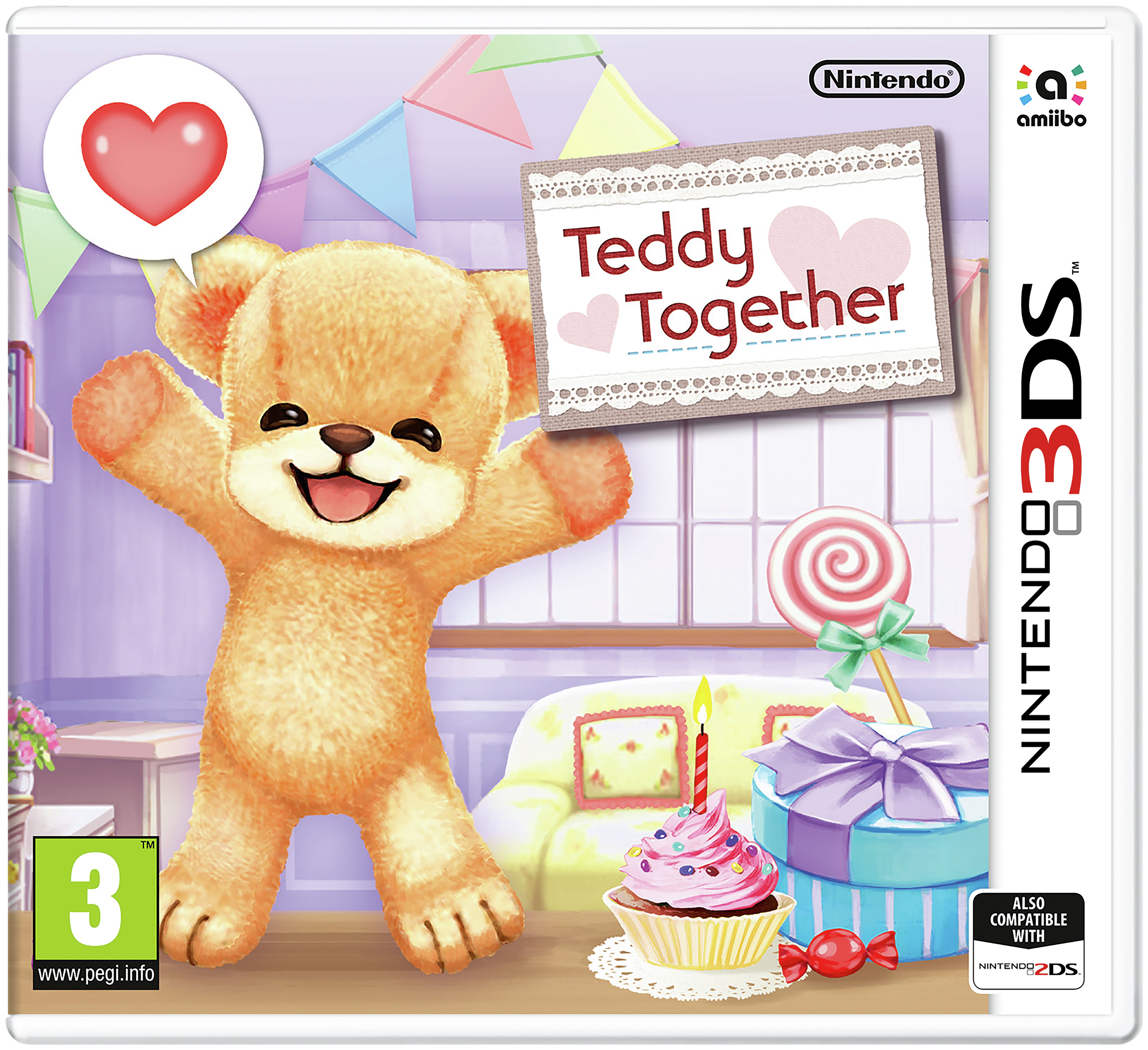 Image of Teddy Together - 3DS Game