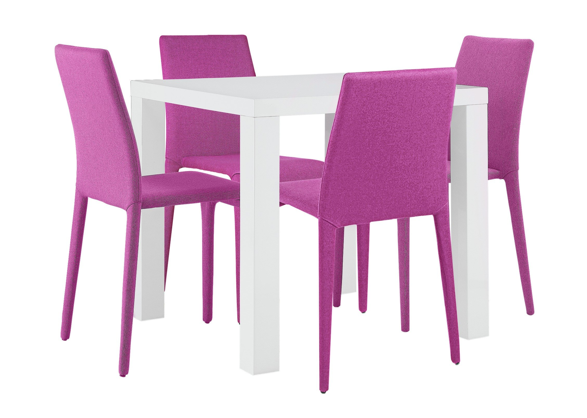 Sale On Hygena Lyssa White Gloss Dining Table Amp 4 Chairs