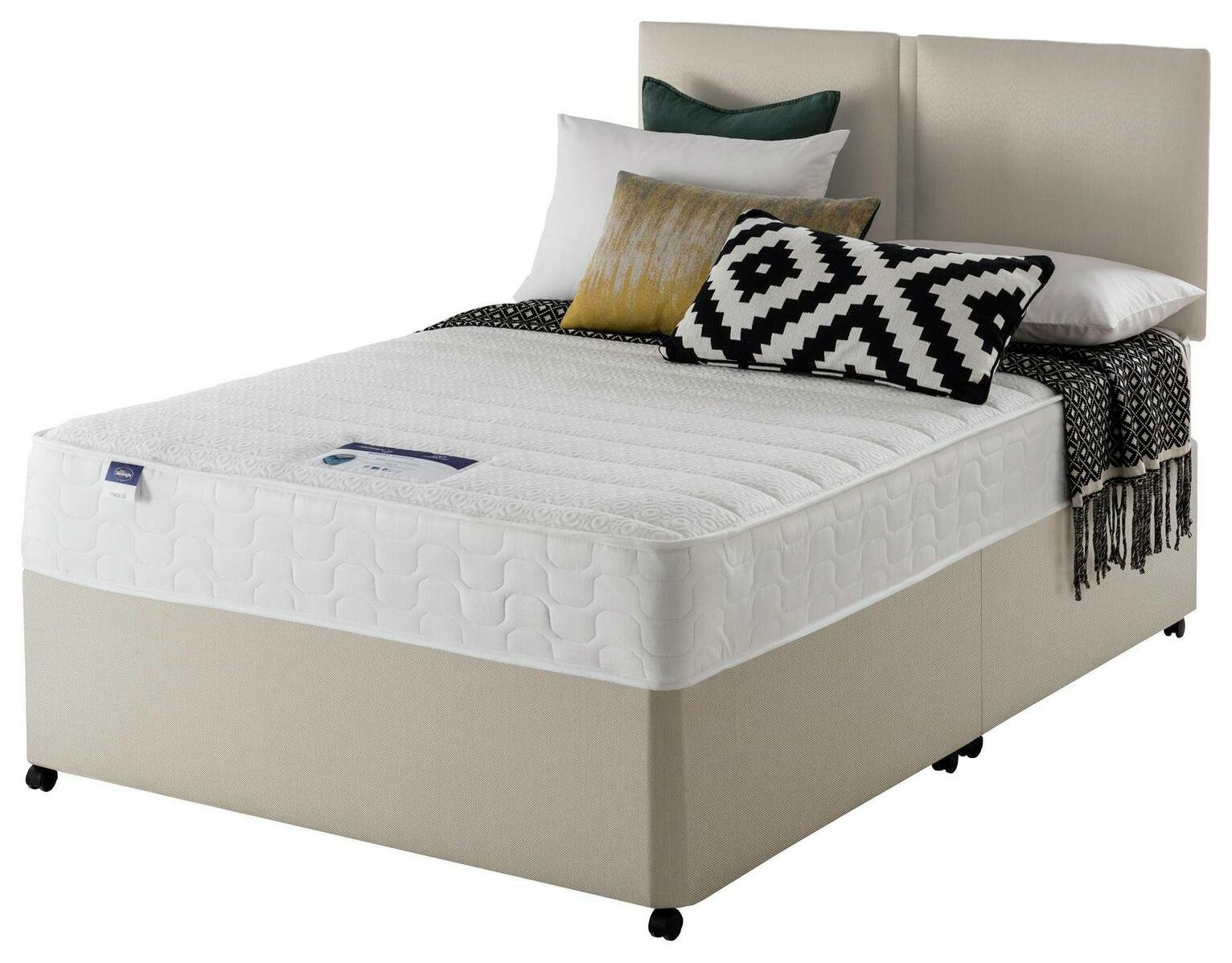 Silentnight Stroud Memory Superking Divan Bed
