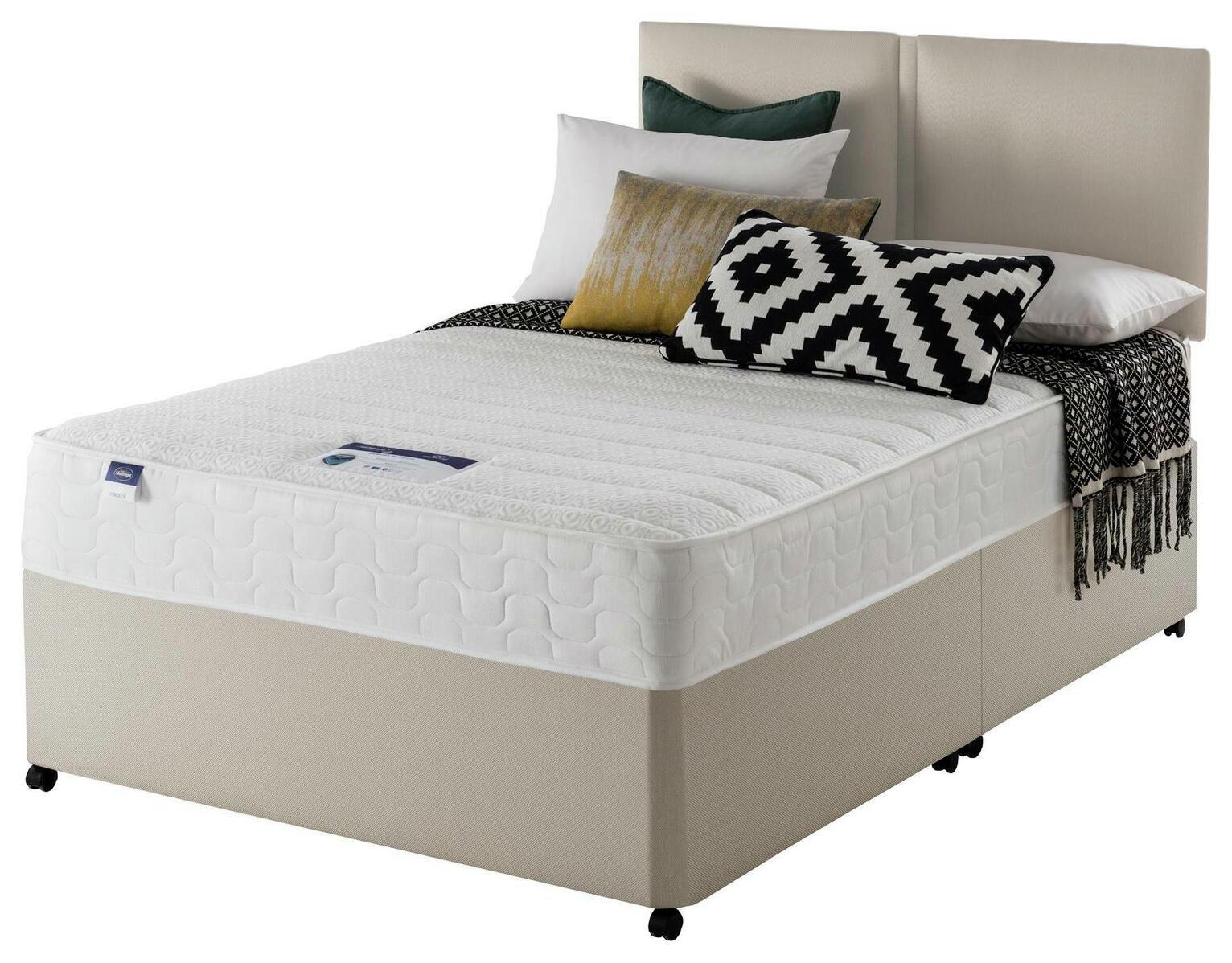 Silentnight Hatfield Memory Divan Bed - Superking