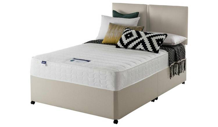 Silentnight Hatfield Memory Foam Divan - Superking