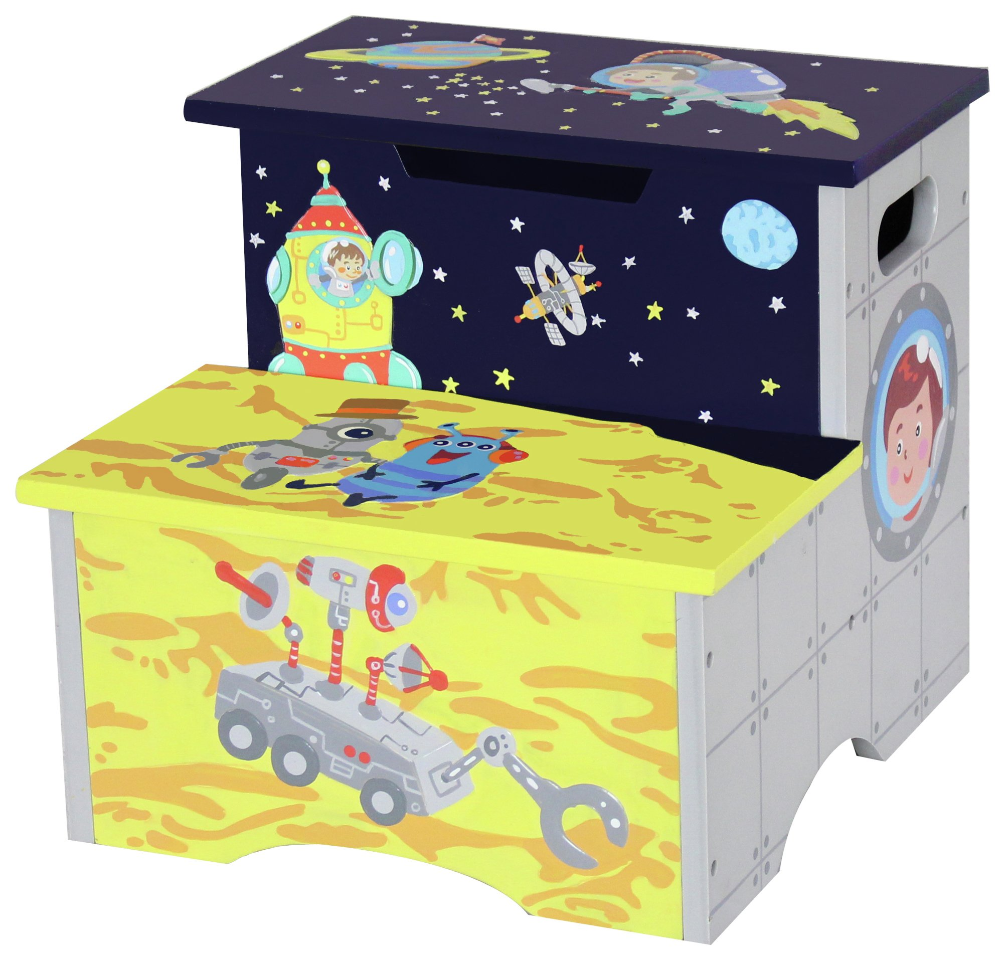 Image of Fantasy Fields Outer Space Step Stool.