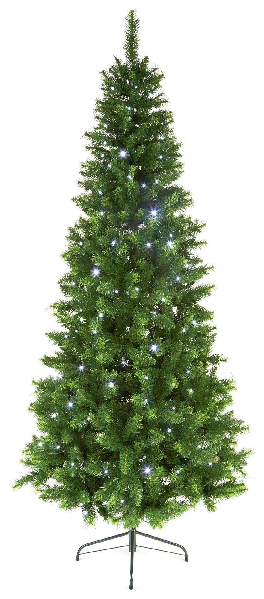 7ft-pre-lit-led-pine-christmas-tree-multicoloured