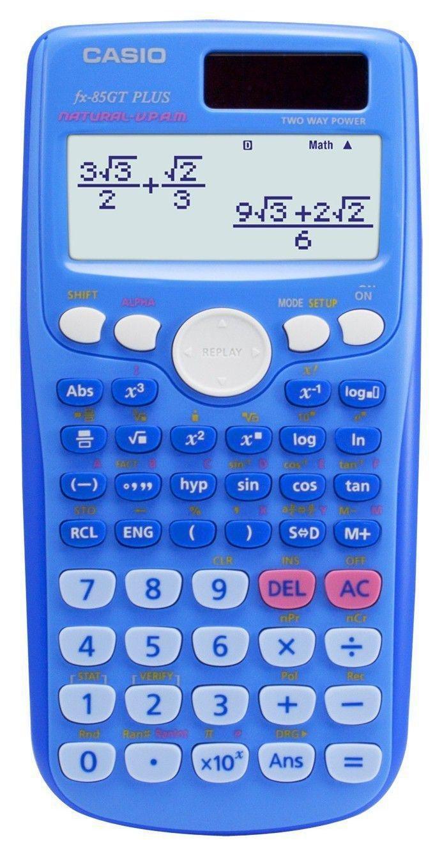 Image of Casio FX-85GT Plus Scientific Calculator - Blue