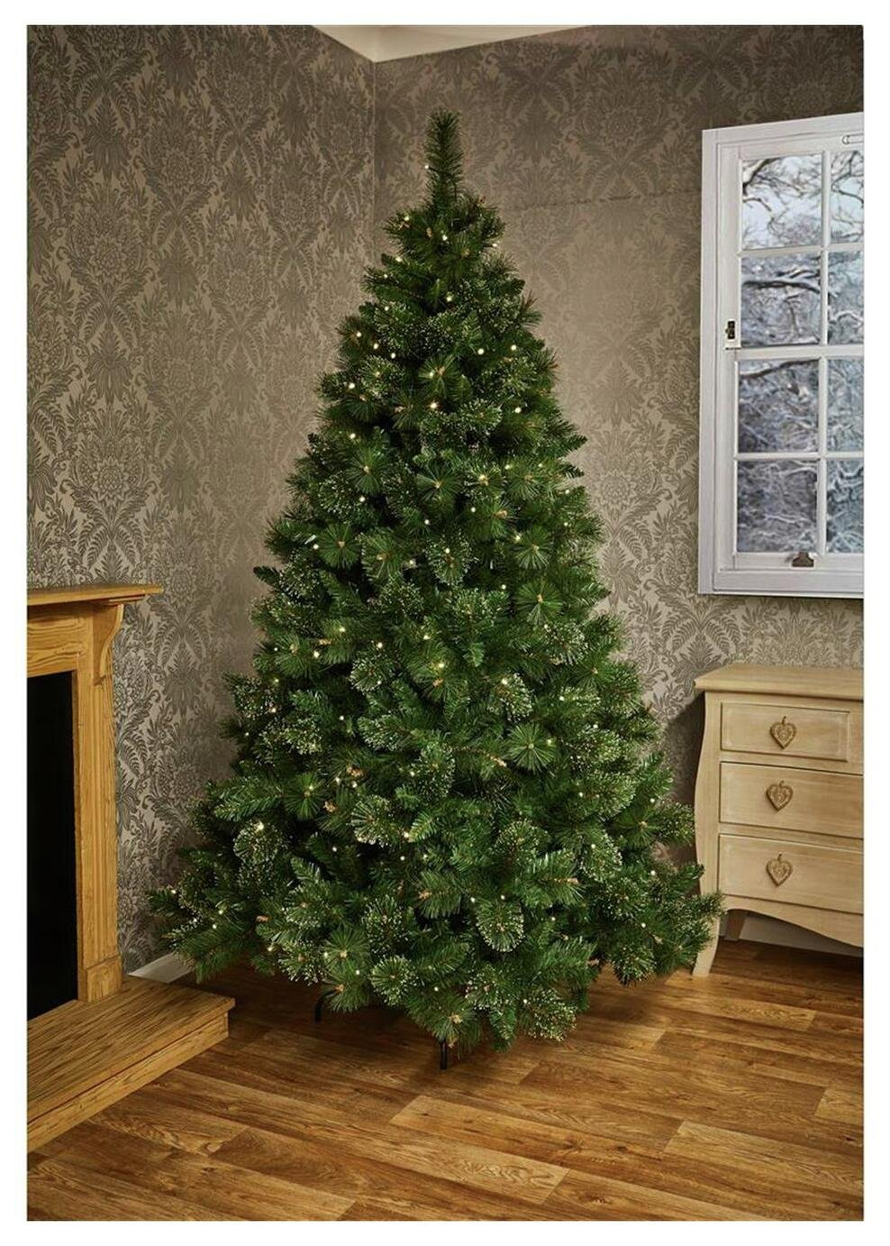 pre-lit-ridgemere-pine-dew-drop-tip-christmas-tree-7ft