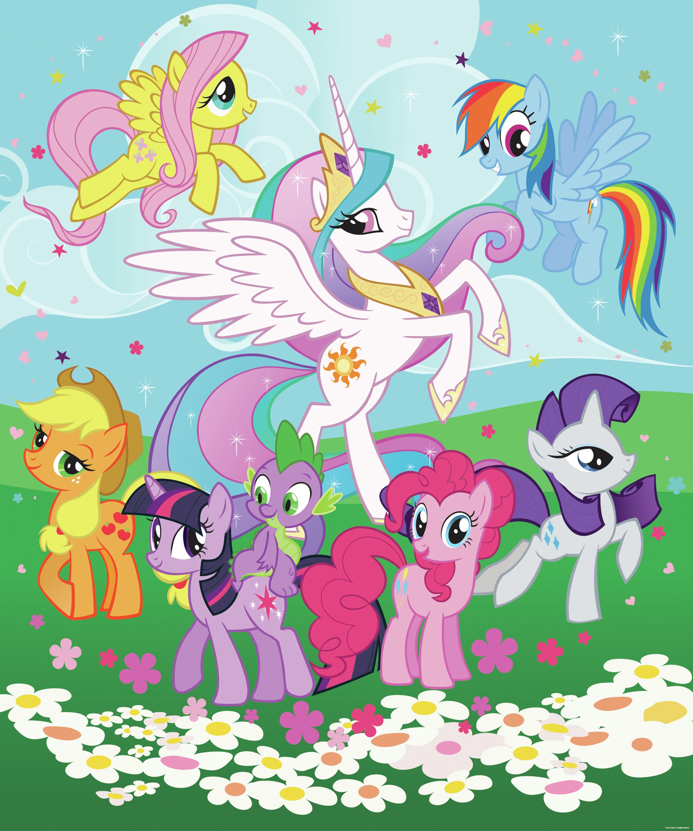 walltastic  my little pony  wall mural