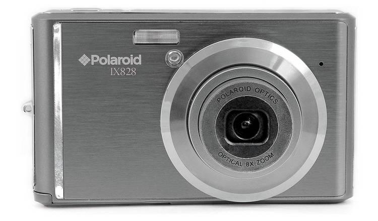 b7211134e5c5 Buy Polaroid IX828 20MP 8x Zoom Compact Camera - Gun Metal ...