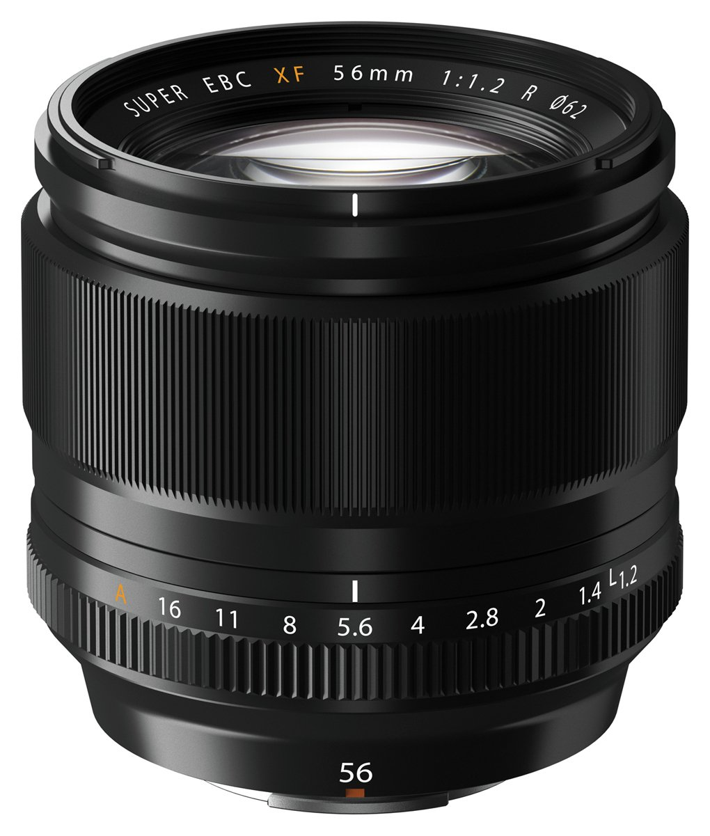 Image of Fujifilm 56mm XF Lens.