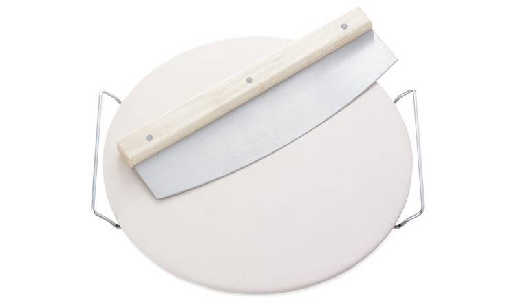 Buy Leifheit Round Pizza Stone With Chopper Serving Bowls And Platters Argos