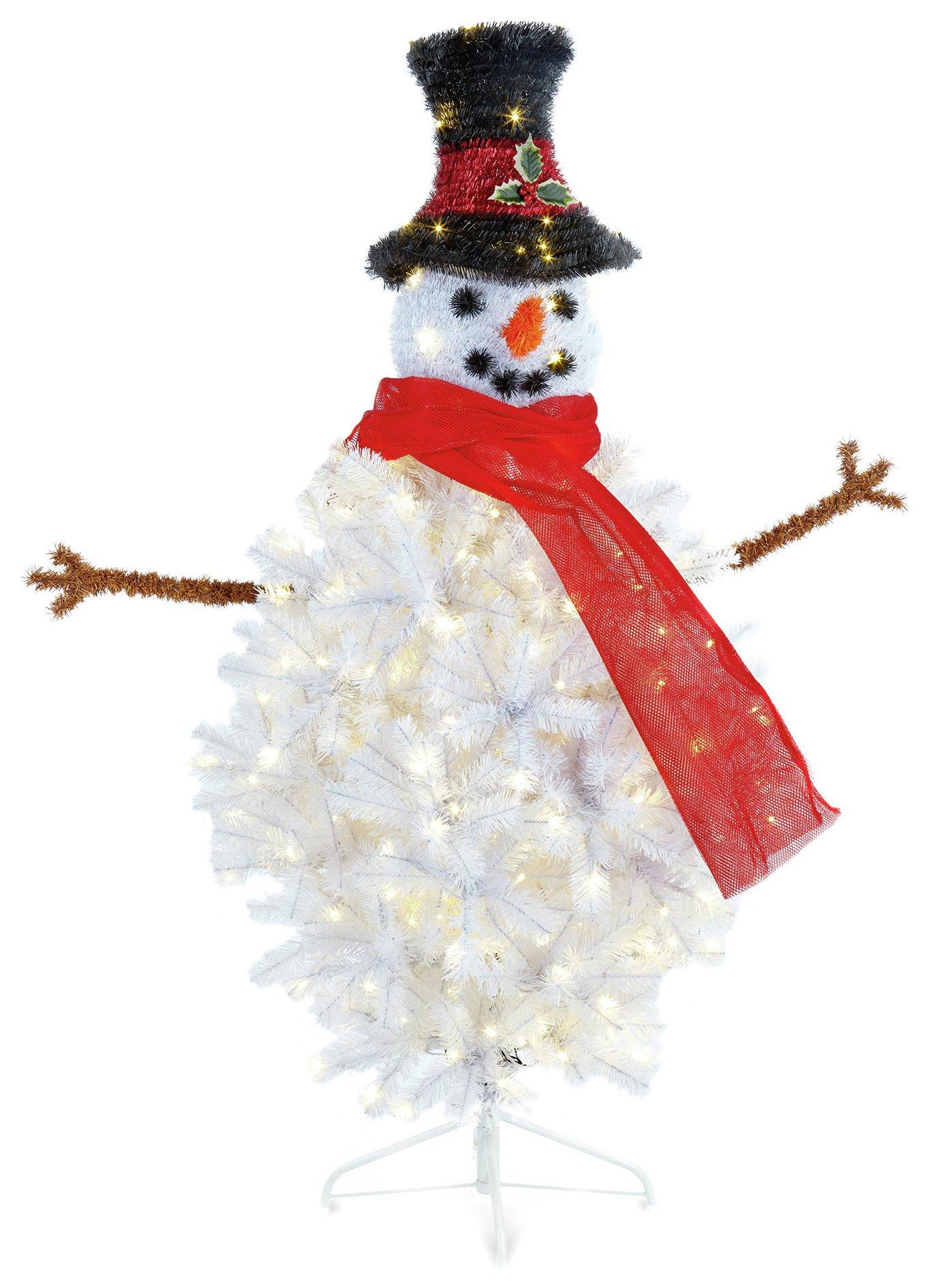 45ft-pre-lit-snowman-christmas-tree