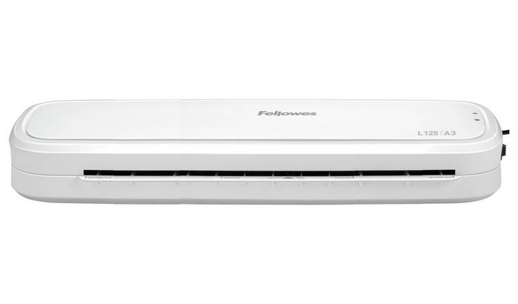Fellowes L125 A3 Laminator and 10 A4 Pouches