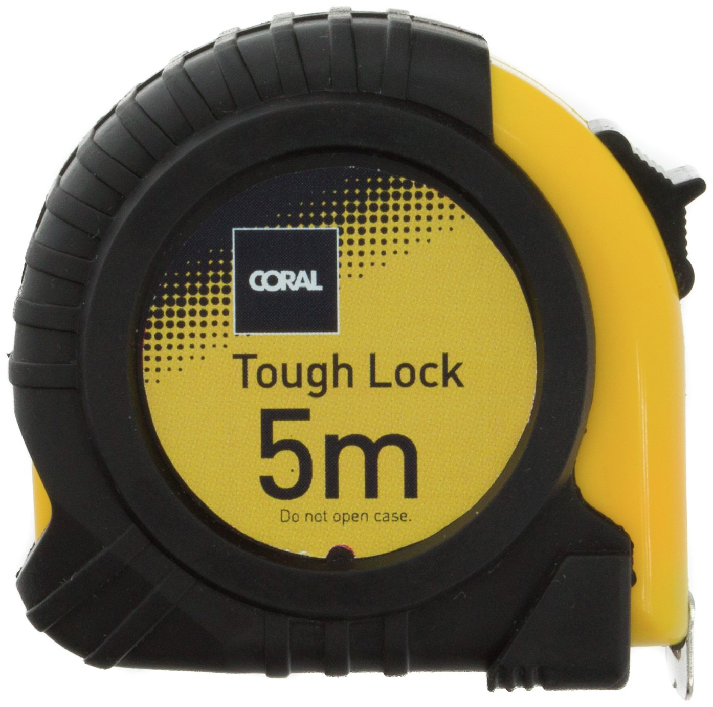 Coral Tough Lock Pocket Tape Measure - 5 Metre