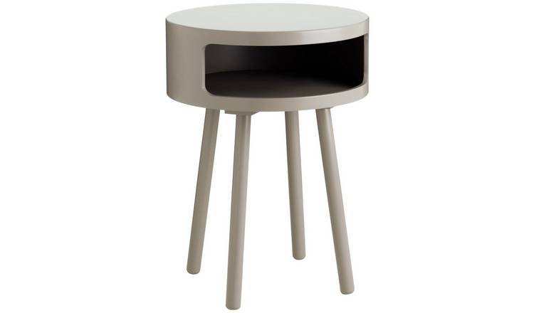 Habitat Bumble Side Table - Grey
