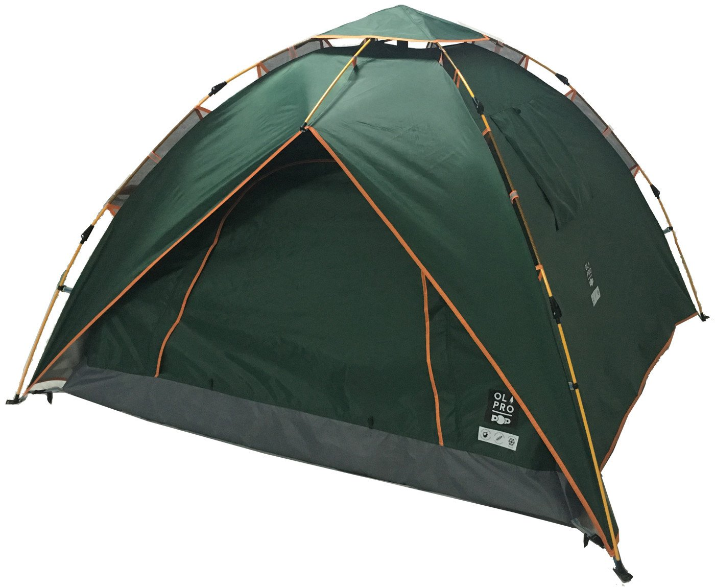 Olpro 2 Man 1 Room Pop Tent - Green