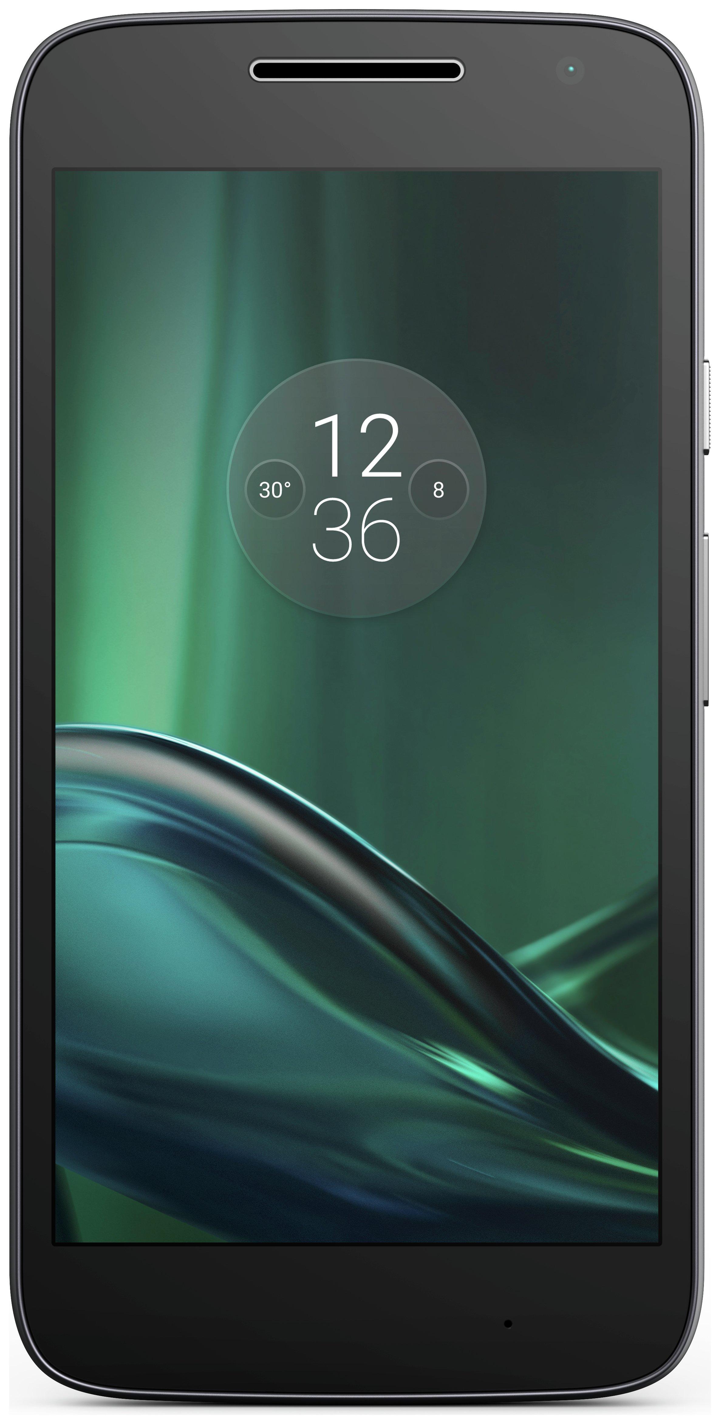 Motorola Sim Free Motorola Moto G4 Play- Black.