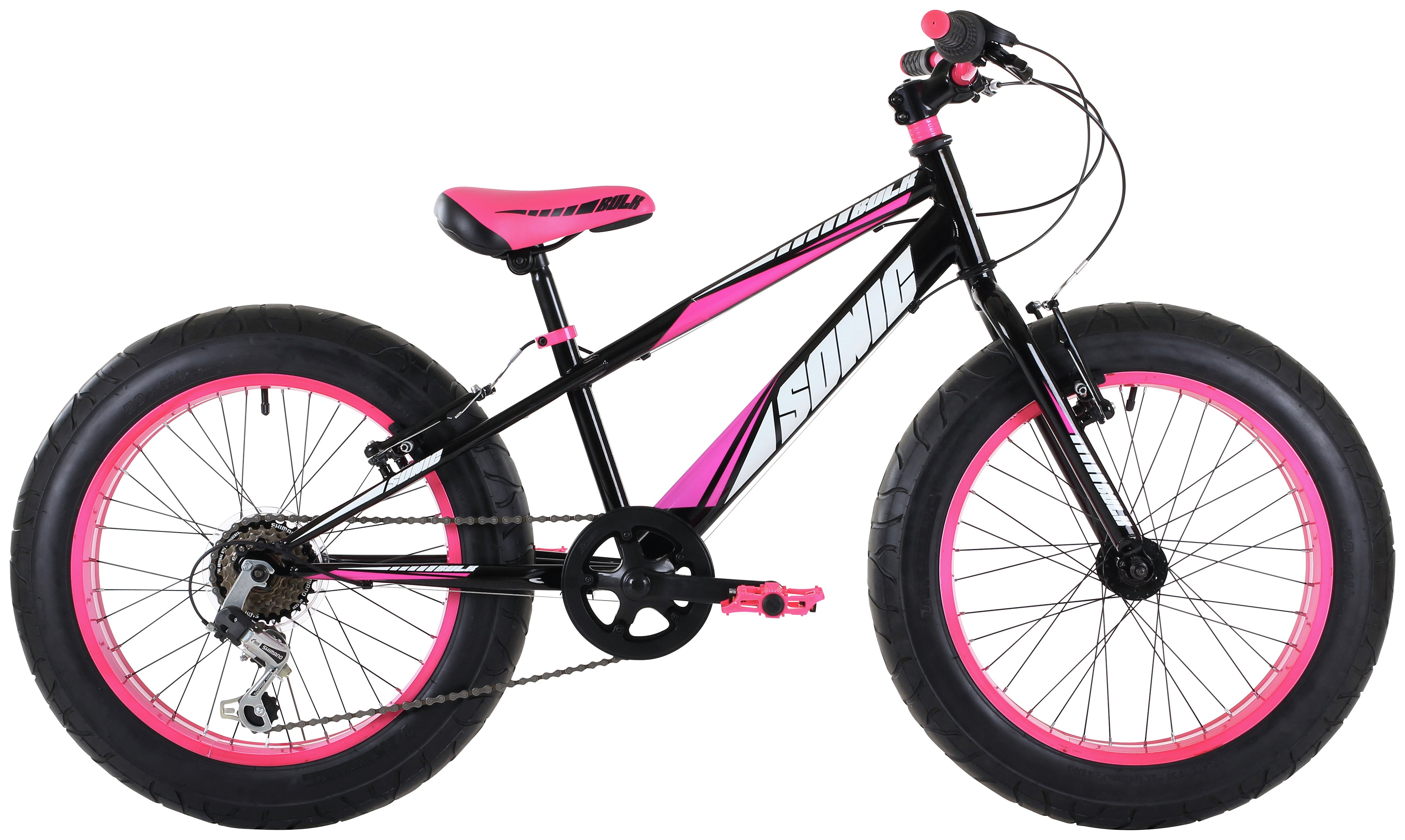 Sonic Pink 20 Inch Kids Bike