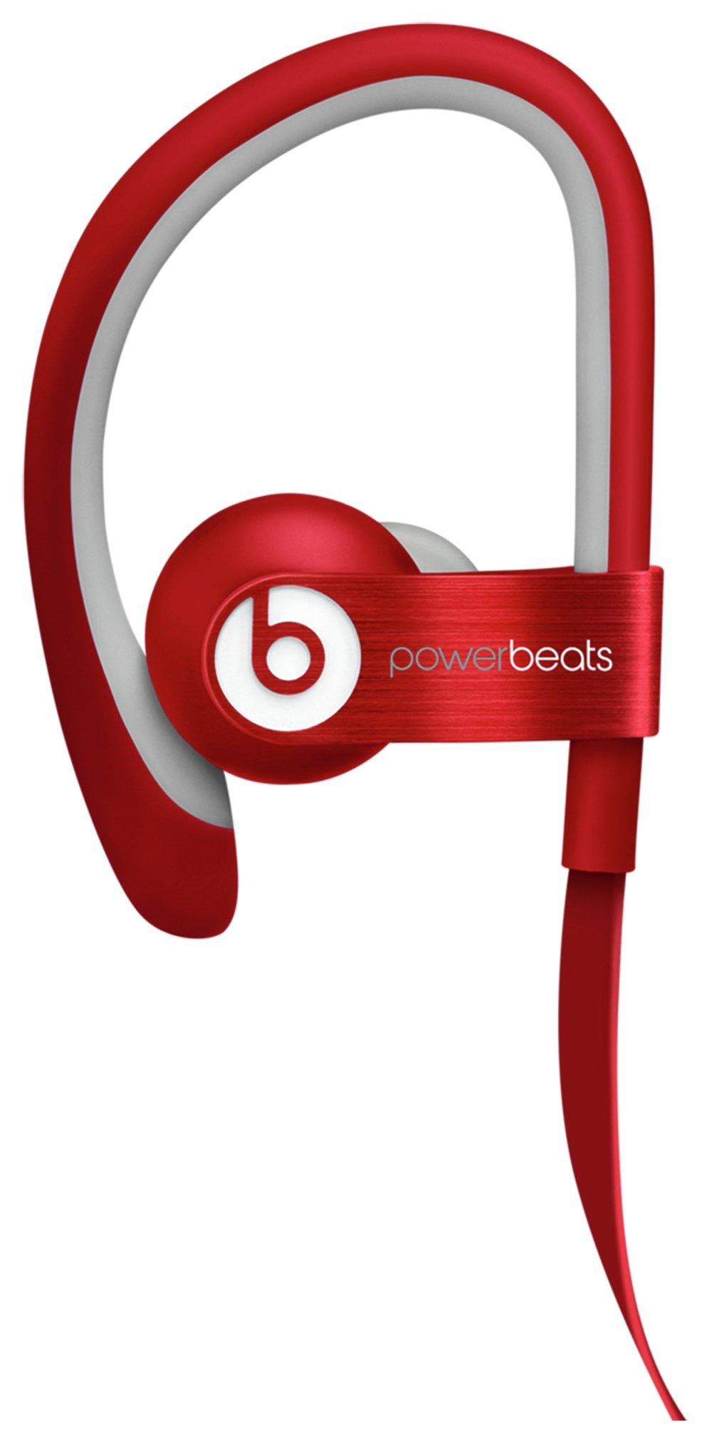 Image of Beats Powerbeats Red.