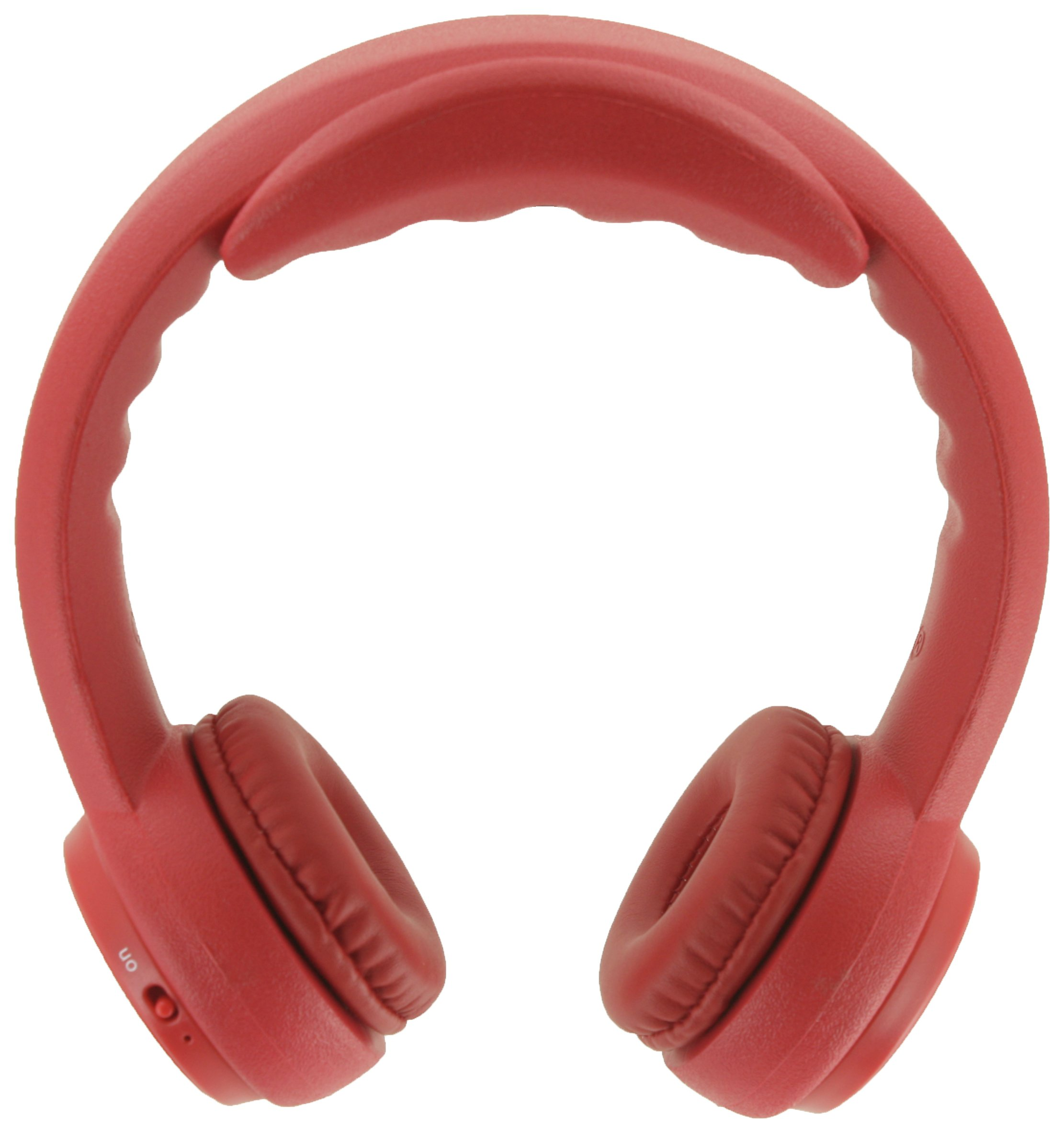 Headfoams HF-BT100 Kids Bluetooth On-Ear Headphones - Red