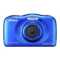 Nikon - CoolPix W100 13MP Waterproof Camera - Blue