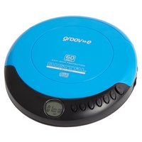 Groov-e GVPS110/BE Retro Personal CD Player - Blue.