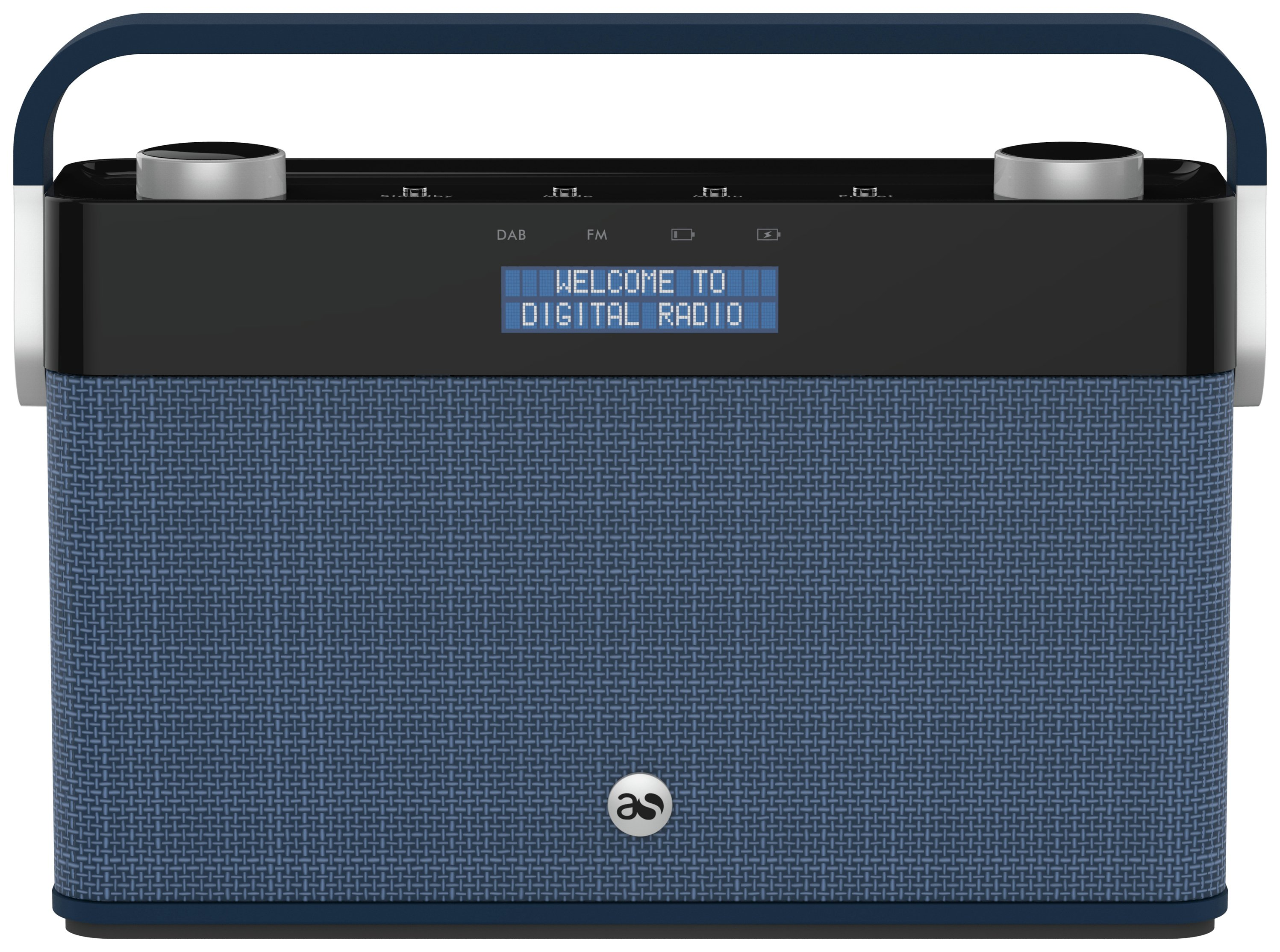Acoustic Solutions - DAB Radio - Denim
