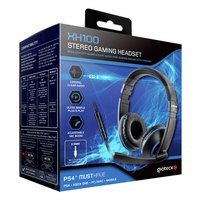 XH 100 Wired Stereo Headset - Blue.