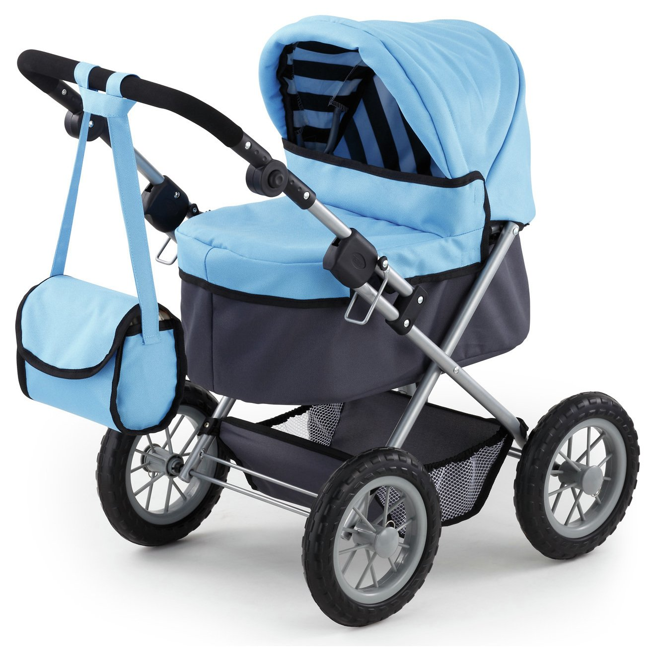 Bayer Dolls Pram Trendy - Blue