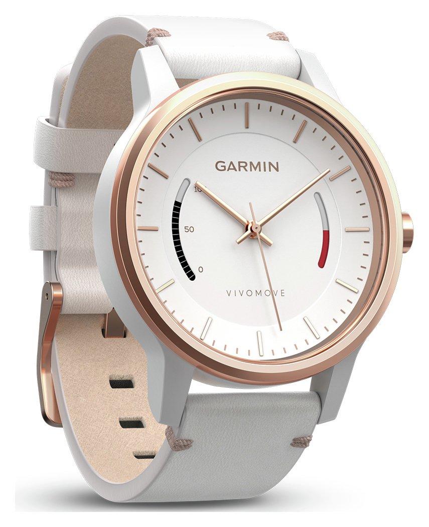 Garmin Garmin vivomove Classic - Rose Gold and Leather.