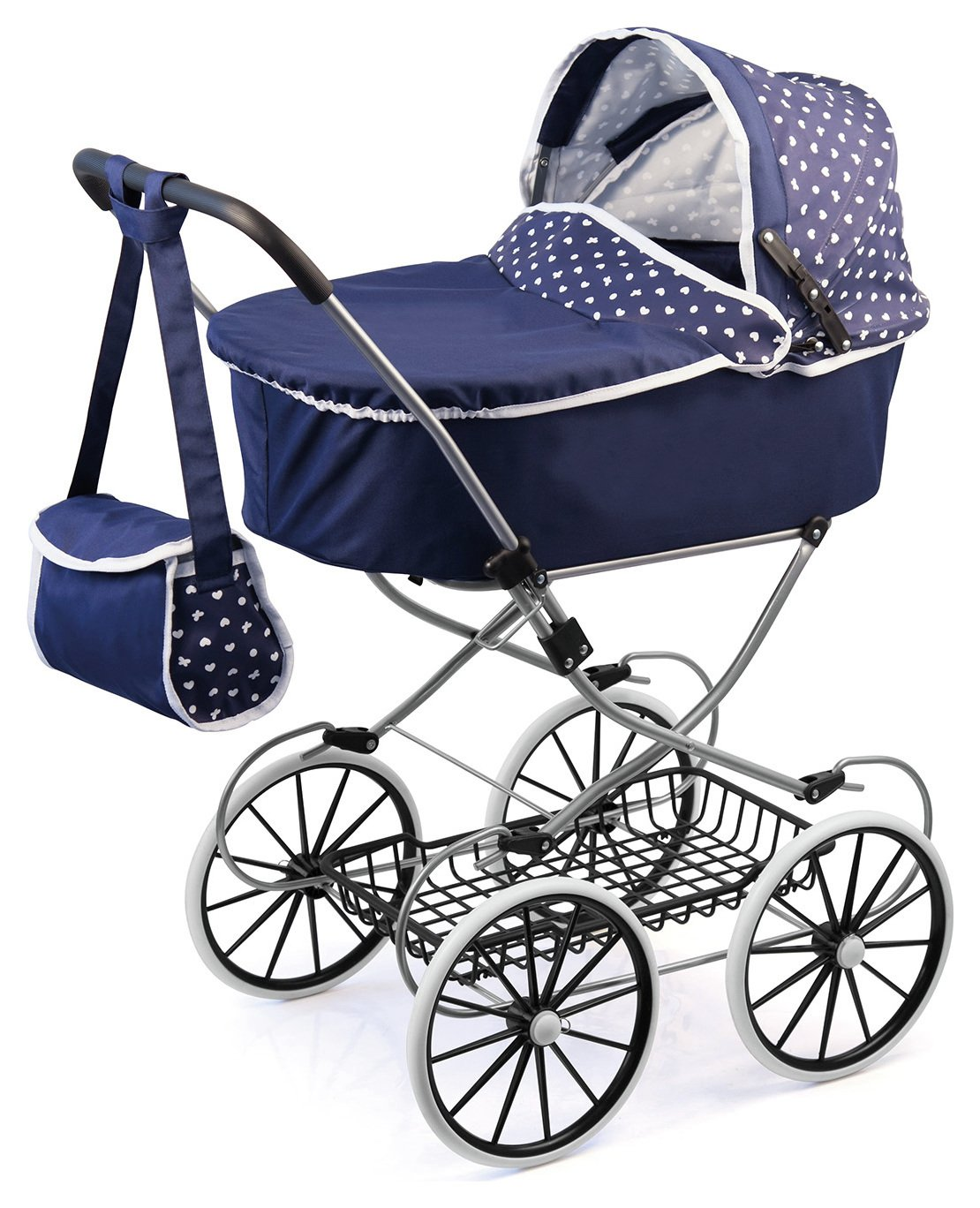 Image of Bayer Classic Deluxe Dolls Pram