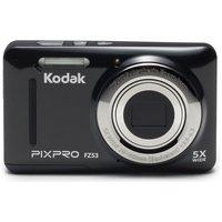 Kodak - PixPro FZ53 16MP 5x - Zoom - Digital - Compact Camera