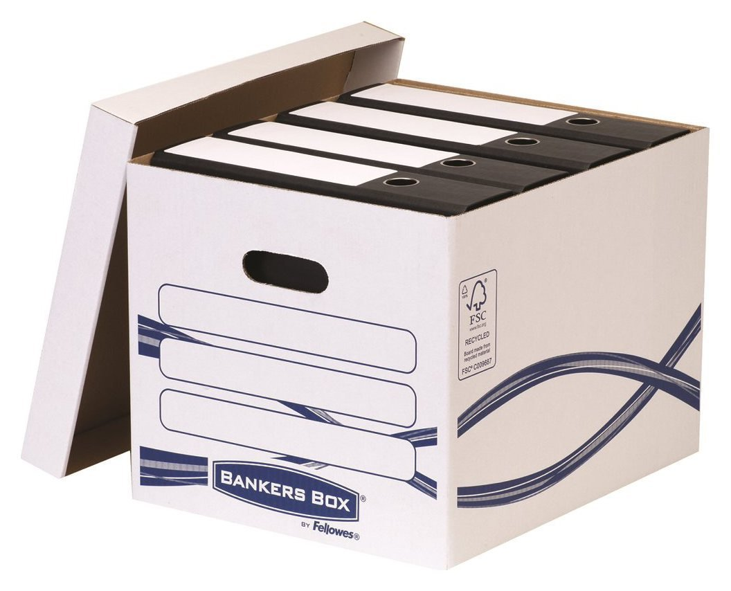 Fellowes Fellowes Bankers Box Basic Storage Box - White.