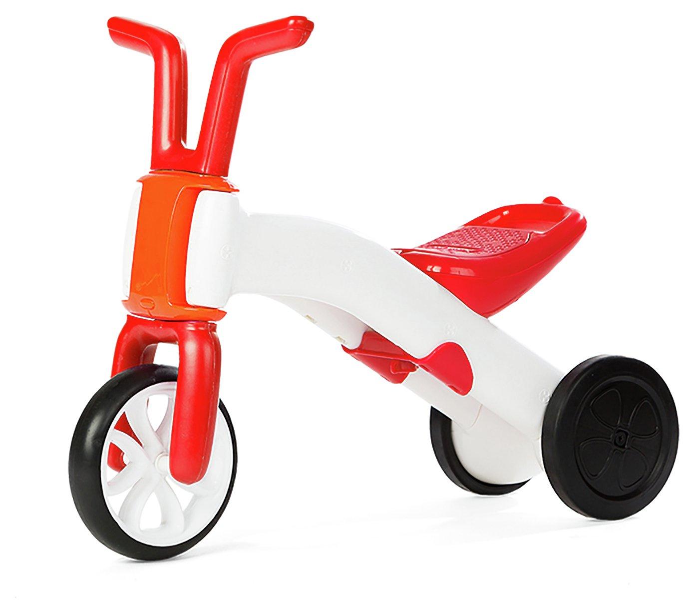 Image of Bunzi - 2 In 1 Gradual Balance - Bike Red