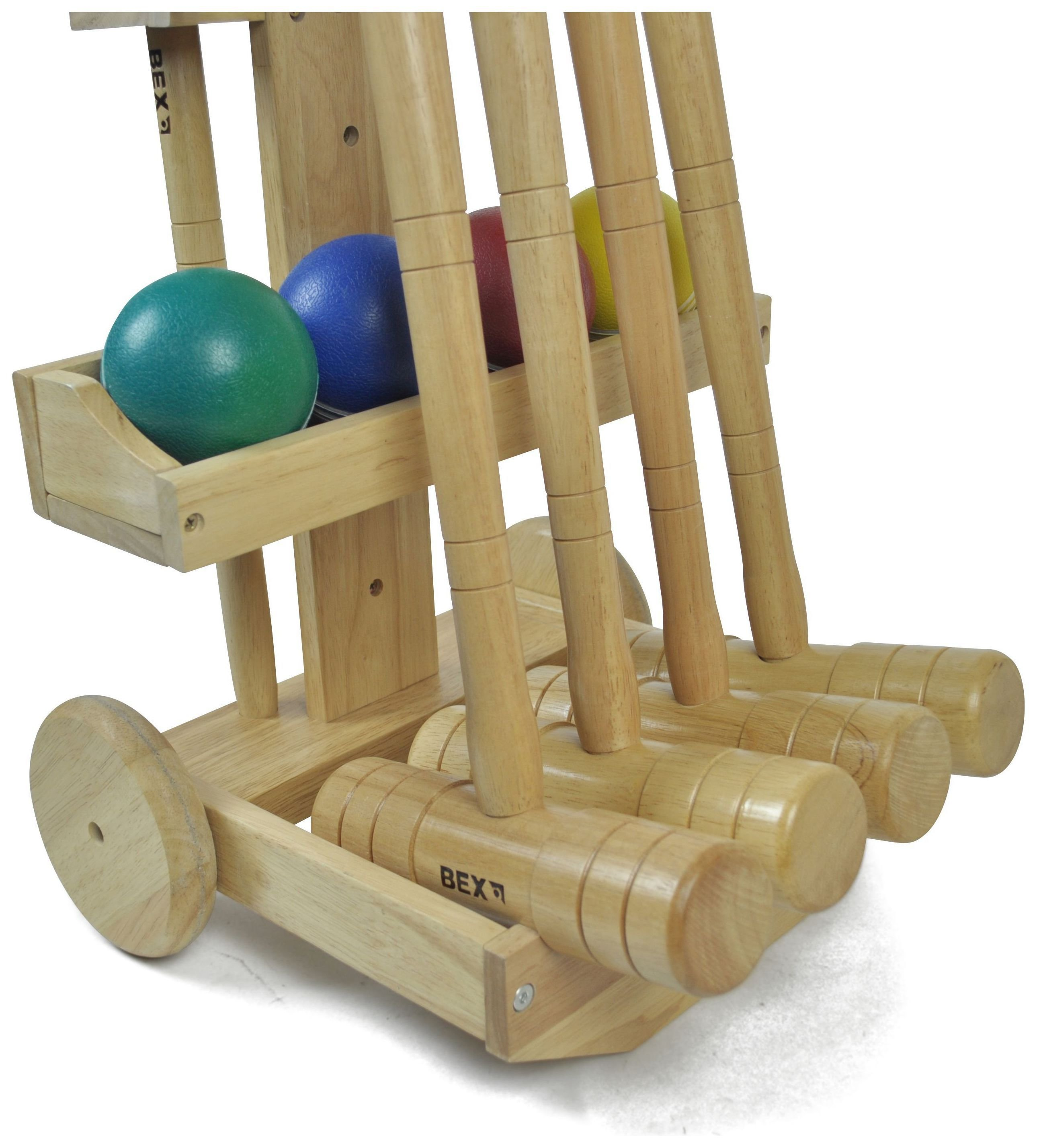 Image of Croquet Pro 4 Mallet With Trolley.
